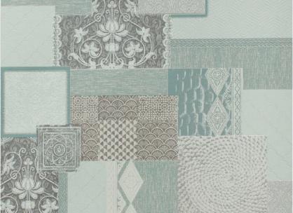 Моющиеся виниловые обои на бумажной основе LS Коллаж МНК 4-1292